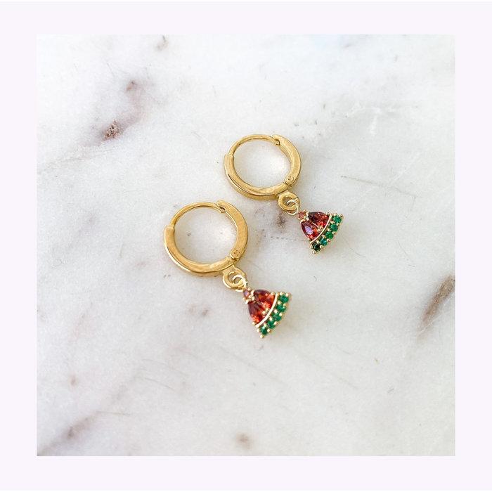 Horace Melon Earrings