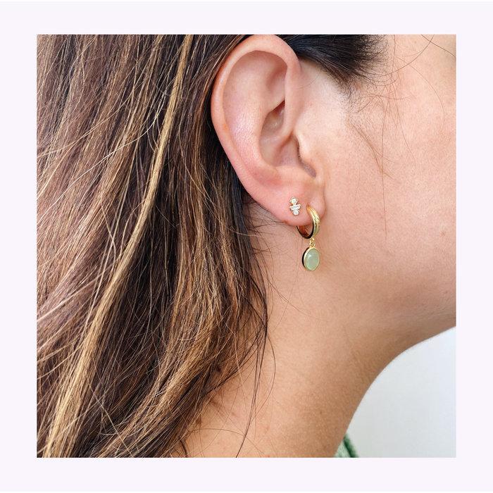 Boucles d'oreilles Jado Horace