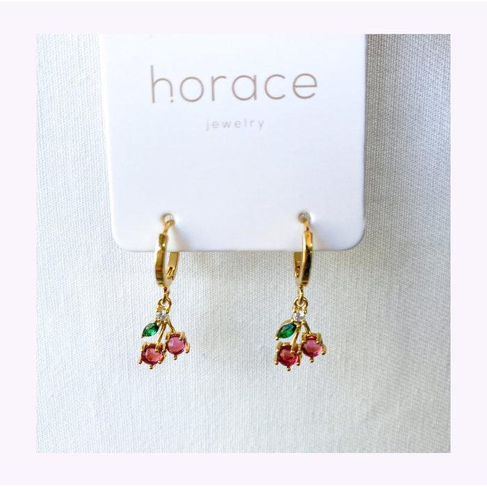 Horace Cherry Earrings