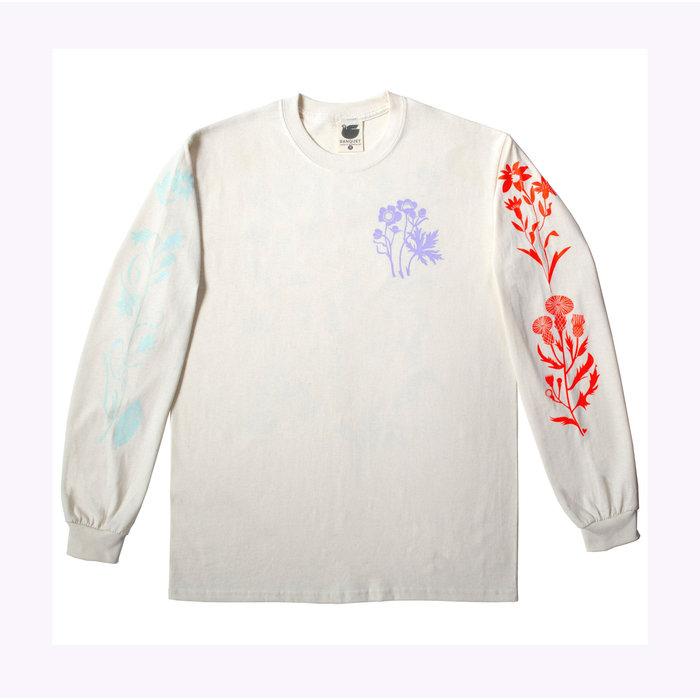T-Shirt longues Manches Fleurs Sauvages Banquet Atelier