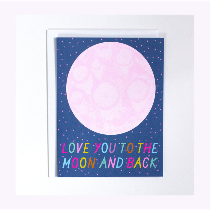 Banquet Atelier Love you to the Moon Card