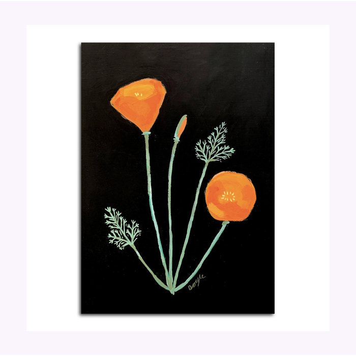 Michael Doyle California Poppy Post Card