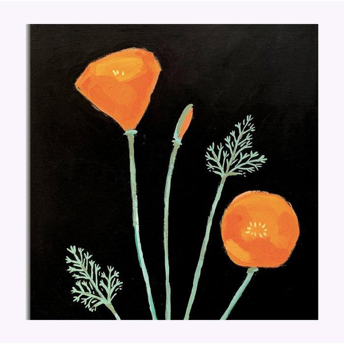 Carte Postale California Poppy Michael Doyle