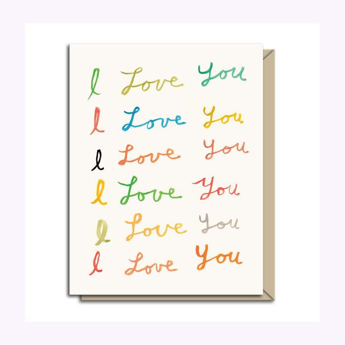 Michael Doyle Carte de souhaits I Love You Michael Doyle
