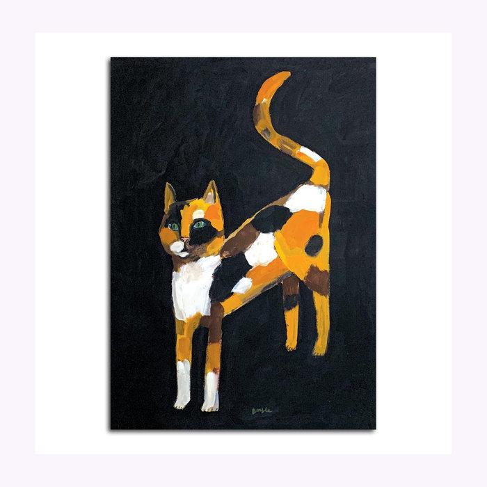 Michael Doyle Michael Doyle Chamomile (Bad Cat) Post Card