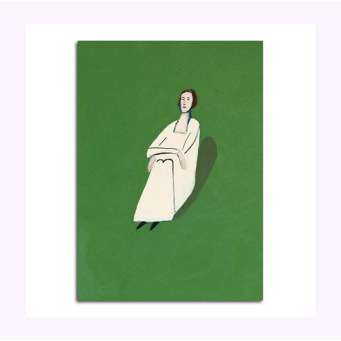 Carte Postale Poet in the Grass Alas Michael Doyle