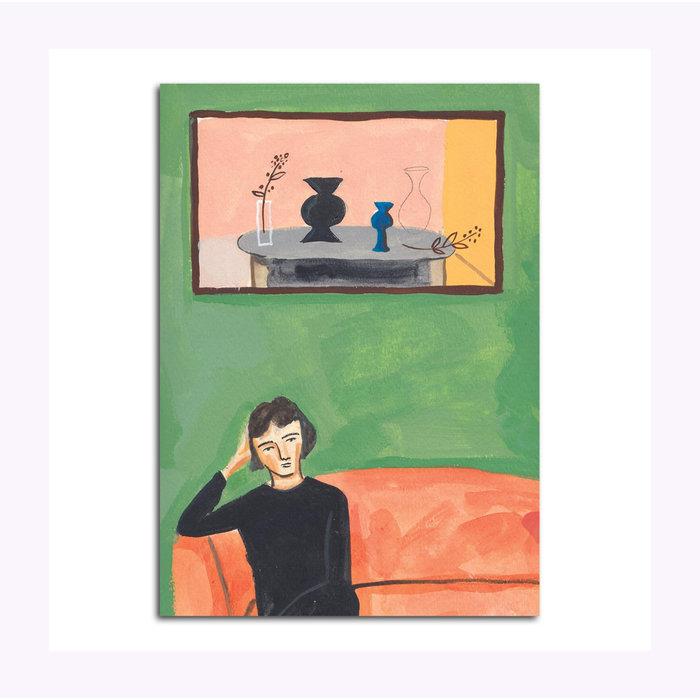 Carte Postale Helen in The Green Room Michael Doyle