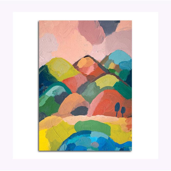 Michael Doyle Mystic Mountains Post Card