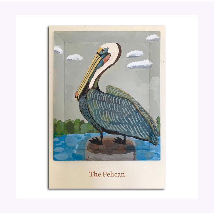 Carte Postale Pelican Michael Doyle