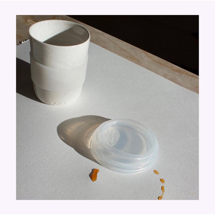 Tasse de transport Pas Mon Style 12oz Speckles Ivory