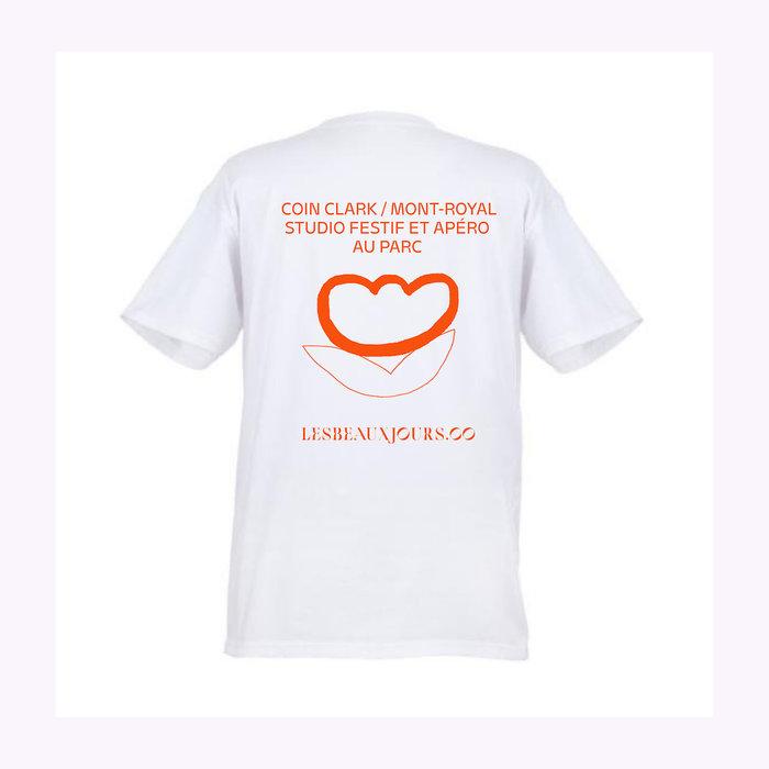 Les Beaux Jours T-Shirt Apéro Au Parc Blanc Les Beaux Jours