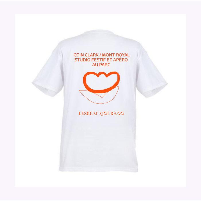 Les Beaux Jours Apéro Au Parc White T-shirt