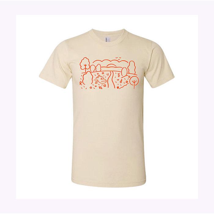 Les Beaux Jours Festive Summer Natural T-Shirt