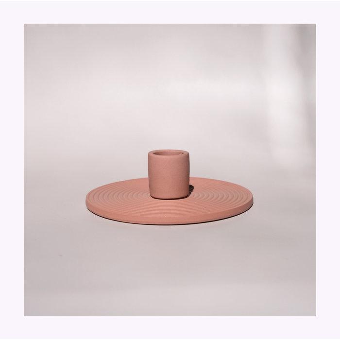 Terracotta Ceramic Simple Candle Holder