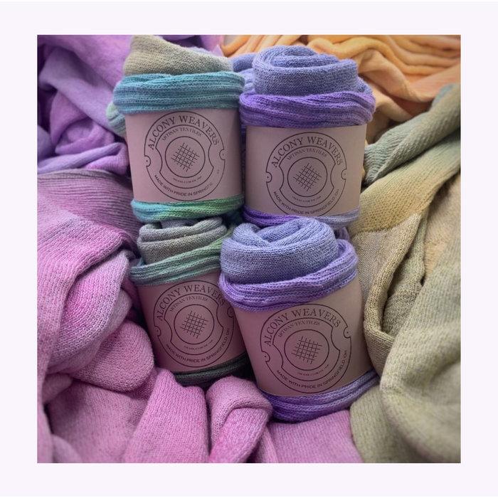 Alcony Weavers Tie-Dye Cotton Socks