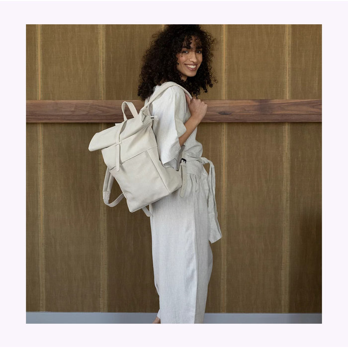 Monk & Anna Sea Shell Herb Backpack