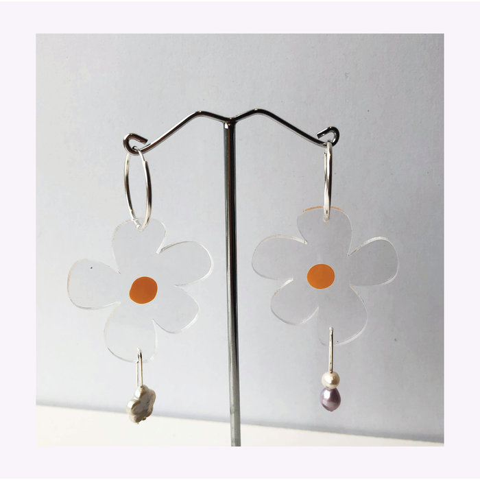 Boucles d'oreilles Nectar Perle Dorkus Design