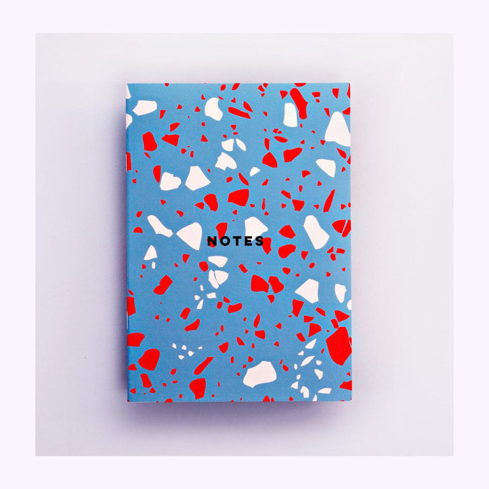 The Completist The Completist Terrazzo Lined Notebook