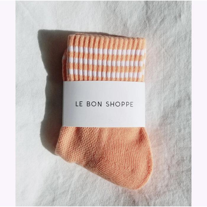 Chaussettes Le Bon Shoppe Girlfriend Pamplemousse