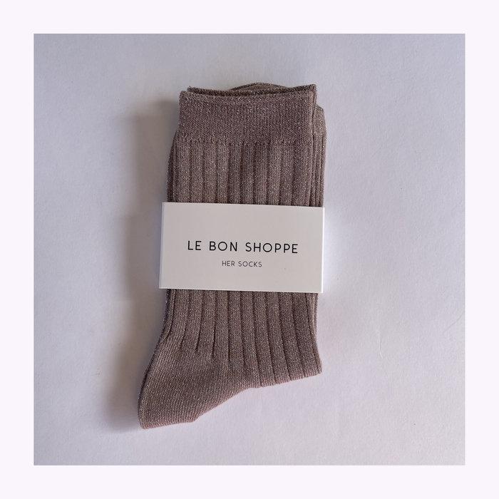 Le Bon Shoppe Chaussettes Le Bon Shoppe Lurex Jute