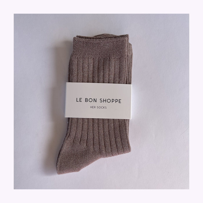 Le Bon Shoppe Le Bon Shoppe Jute Lurex Socks