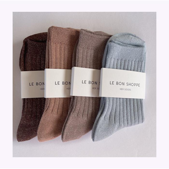 Le Bon Shoppe Jute Lurex Socks