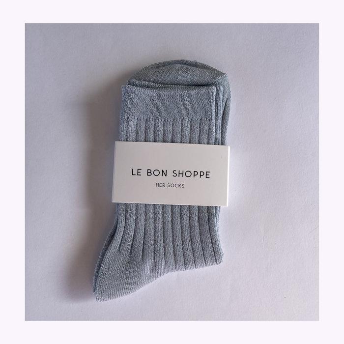 Le Bon Shoppe Le Bon Shoppe Glittery Sky Lurex Socks