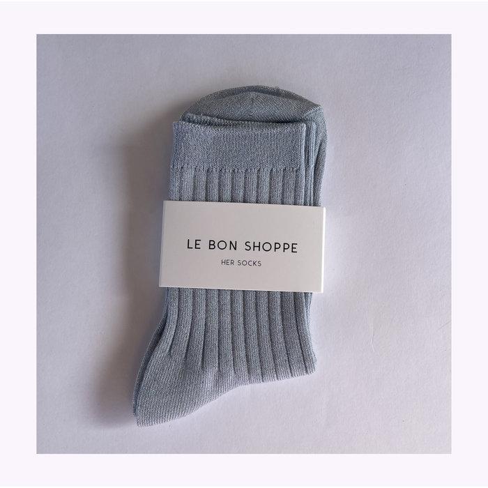 Le Bon Shoppe Glittery Sky Lurex Socks