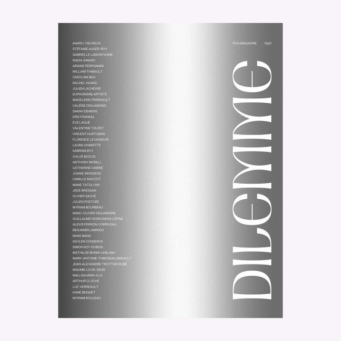 Pica Magazine Magazine Pica no. 12  Édition Dilemme