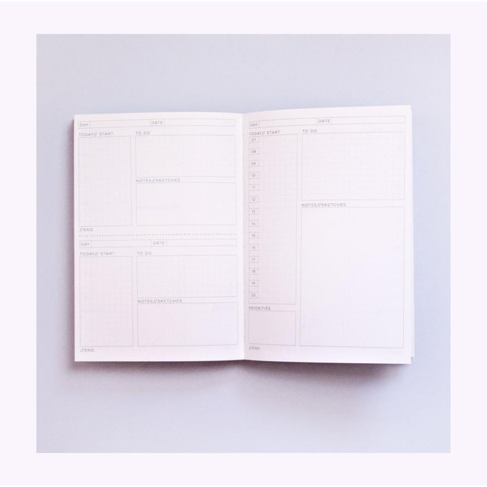 Agenda Daily The Completist
