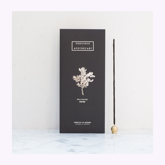 Province Apothecary Province Apothecary Cedar Wood Incense