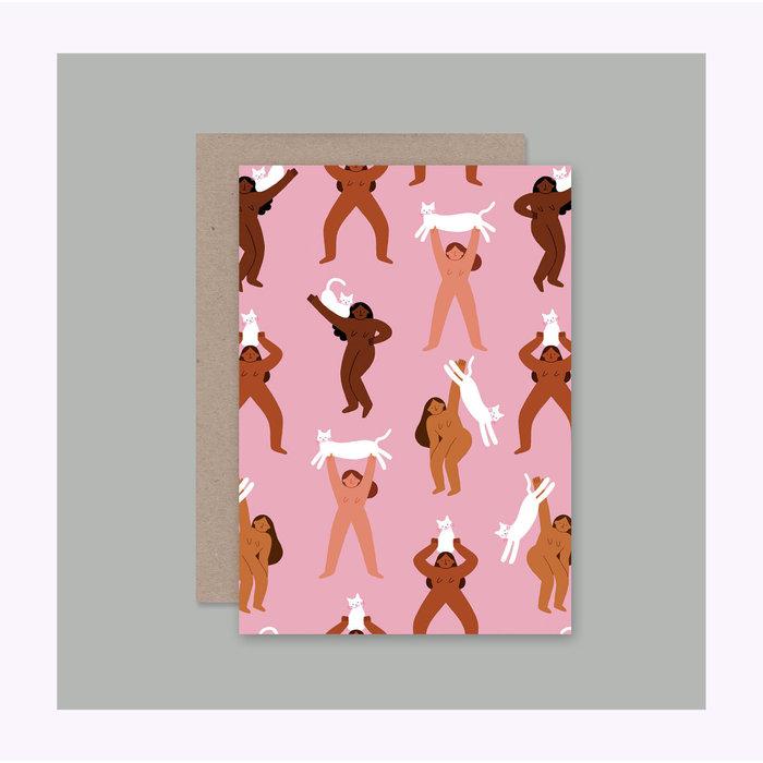AHD Paper Co. Cat Ladies Card