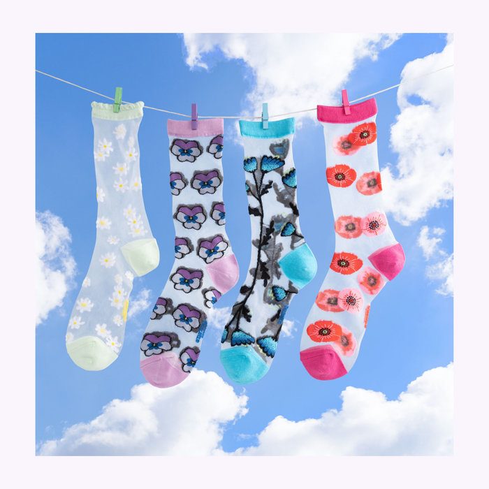 Coucou Suzette Coucou Suzette Transparent Socks