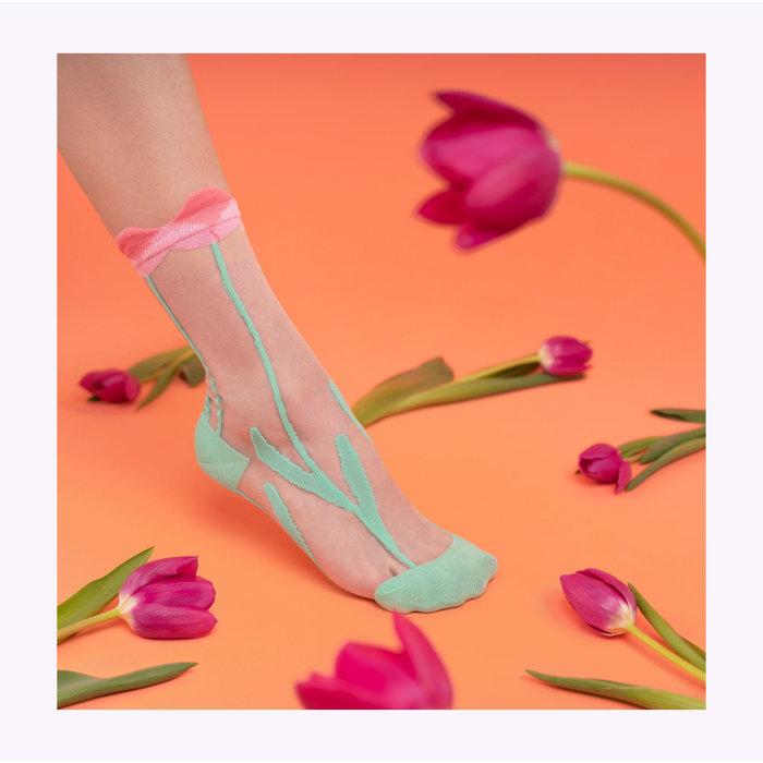 Coucou Suzette Transparent Socks