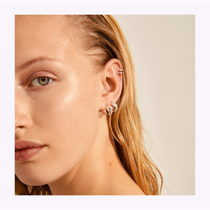 Boucles d'oreilles Natural Beauty 13mm Pilgrim
