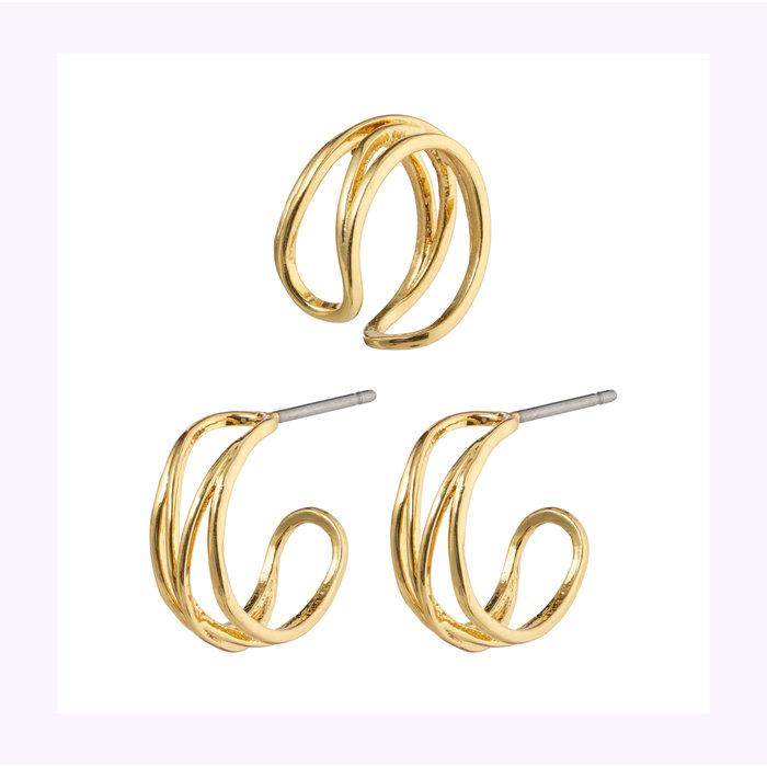 Pilgrim Natural Beauty 13mm Earrings