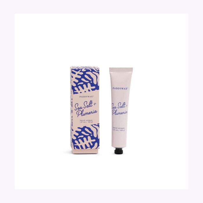 Paddywax Paddywax Sea Salt & Plumeria Hand Cream
