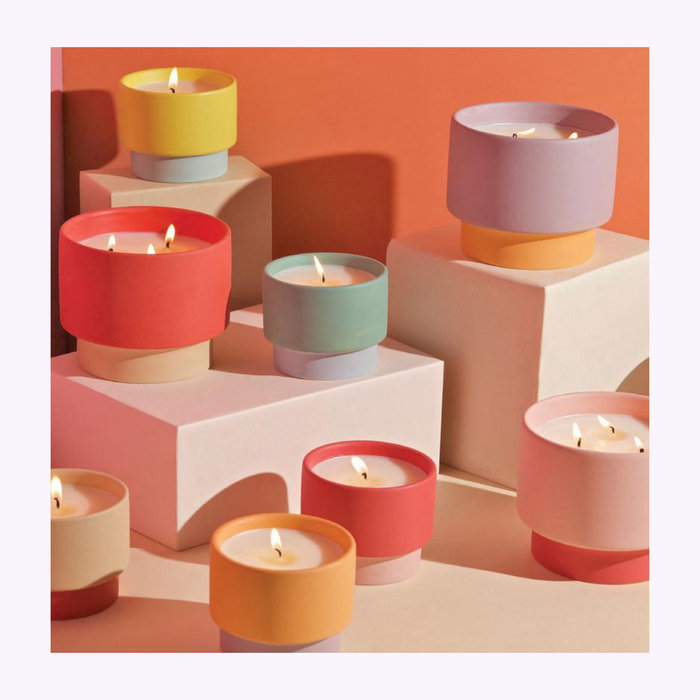 Paddywax Paddywax Colorblock Candle