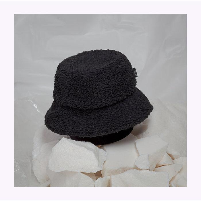 Mercedes Morin Fuzzy Bucket Hat