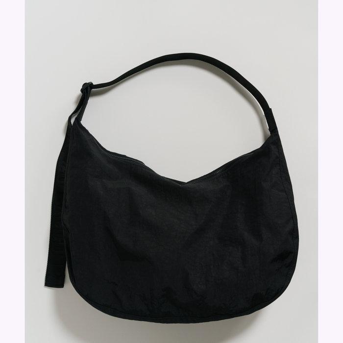 Baggu sac à main Baggu Big Black Crescent Bag