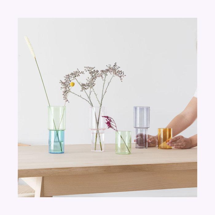 Block Design Vase empilable Block Design