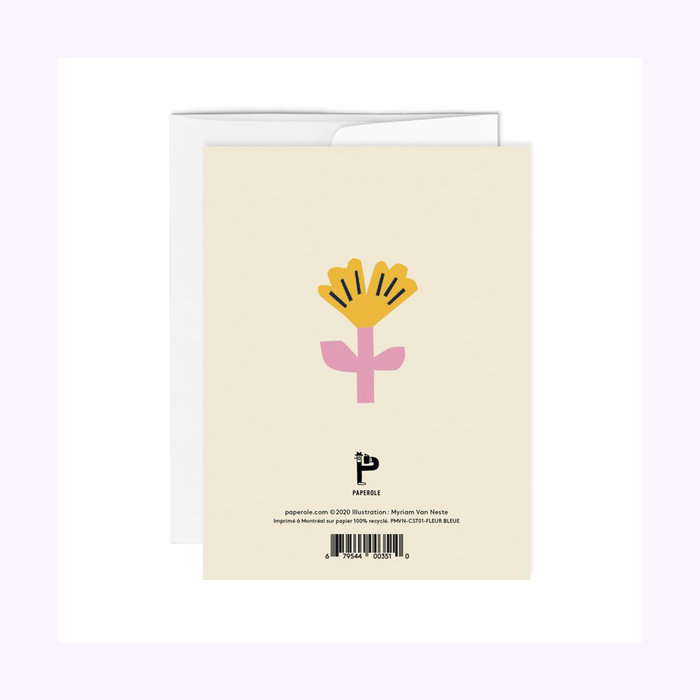Paperole Merci Card