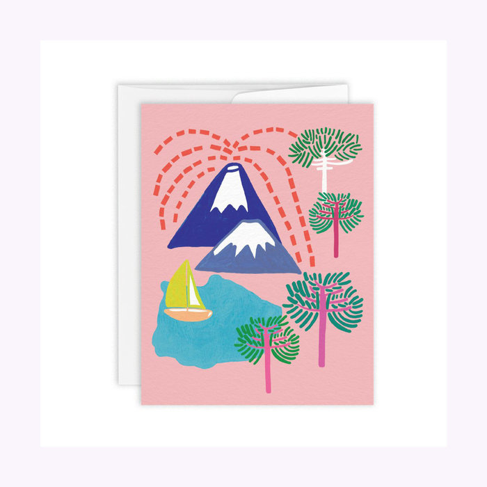 Paperole Volcano Card