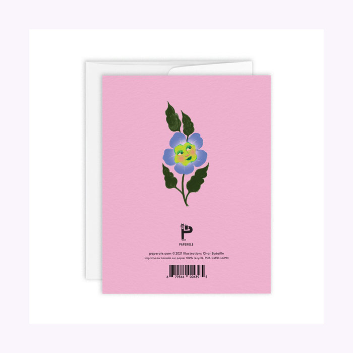 Carte Lapin Paperole