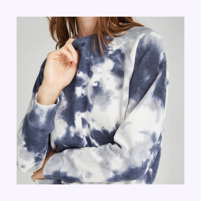 Richer Poorer Blue Storm  Sweatshirt