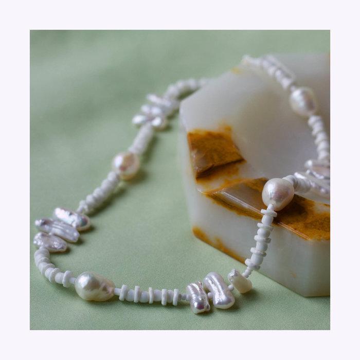 Upcyclé Love Necklace