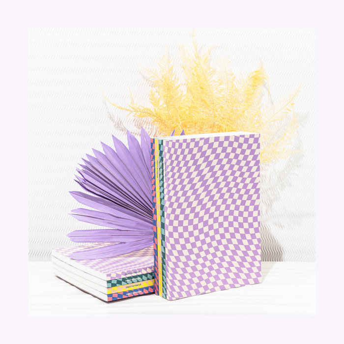 Poketo Poketo Checkered Notebook