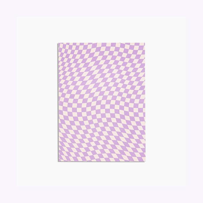 Poketo Checkered Notebook