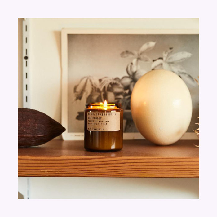 Bougie Pf Candle Co. Spiced Pumpkin Standard