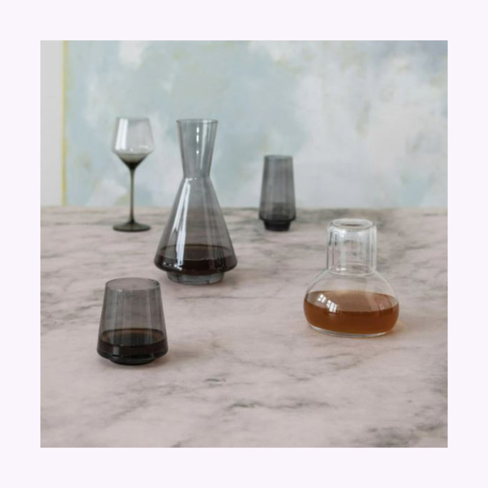 Carafe et verre Bloomingville